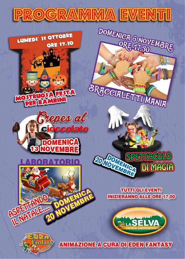 Programma Eventi Novembre