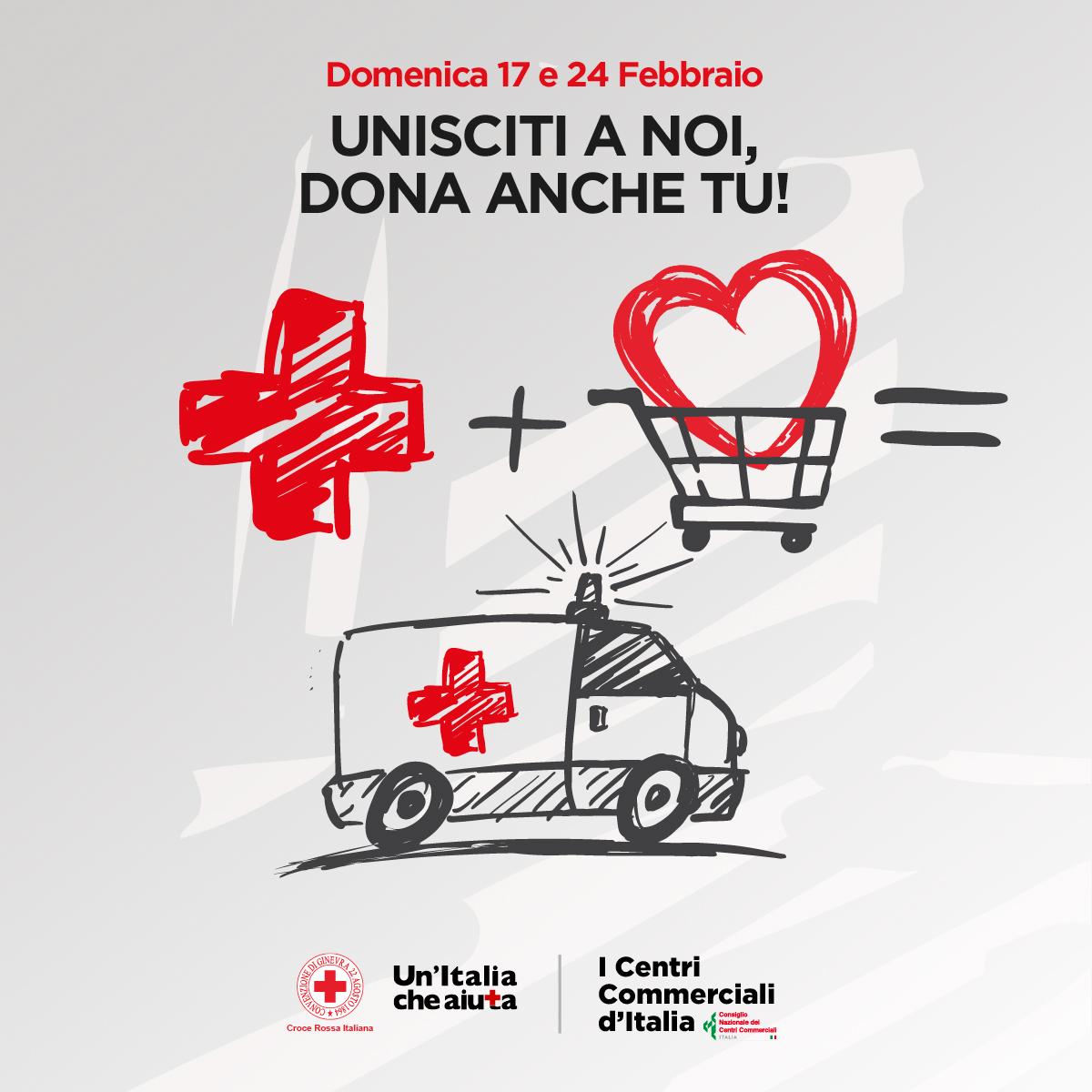 Dona anche tu! Croce Rossa