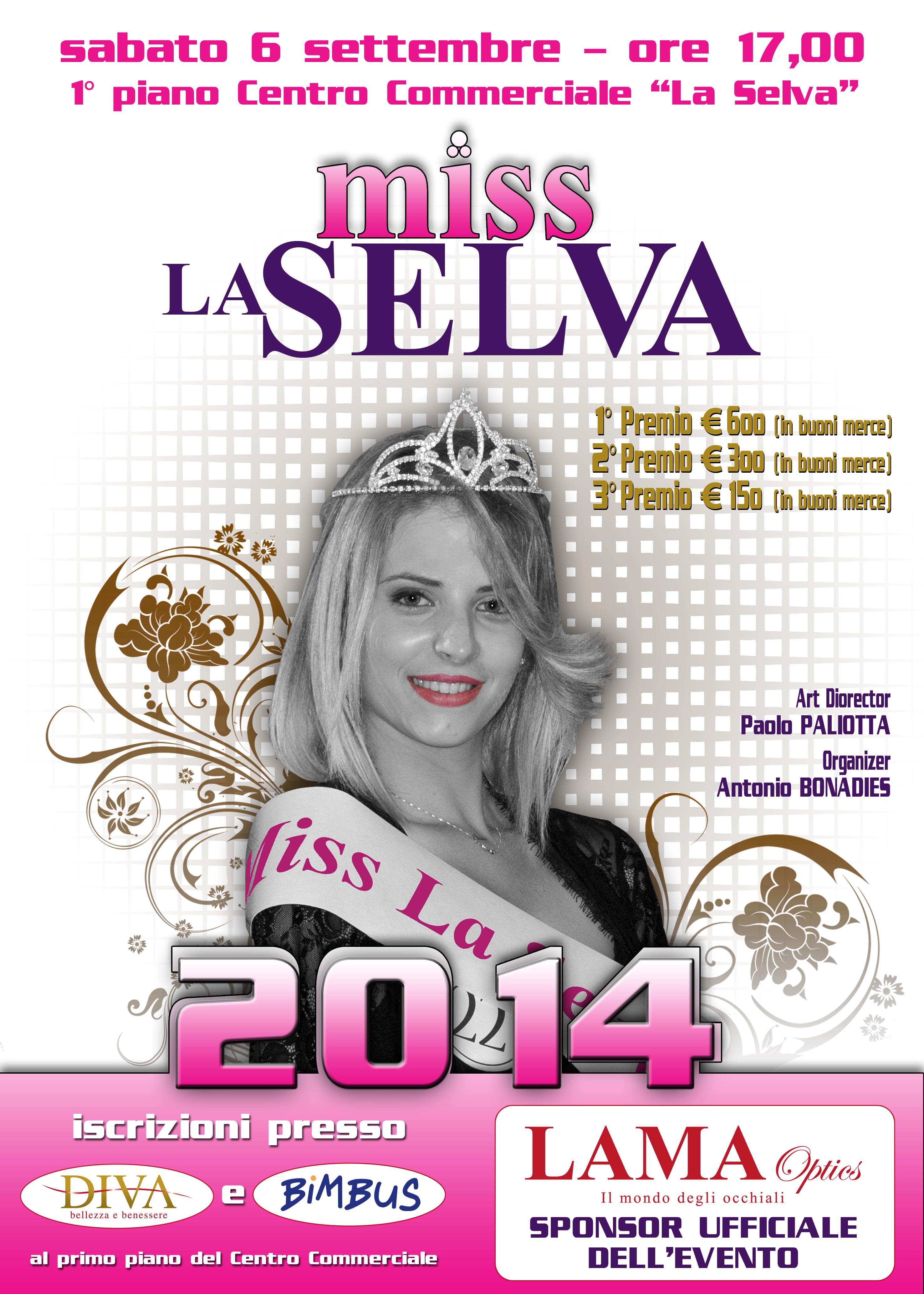 Miss La Selva 2014