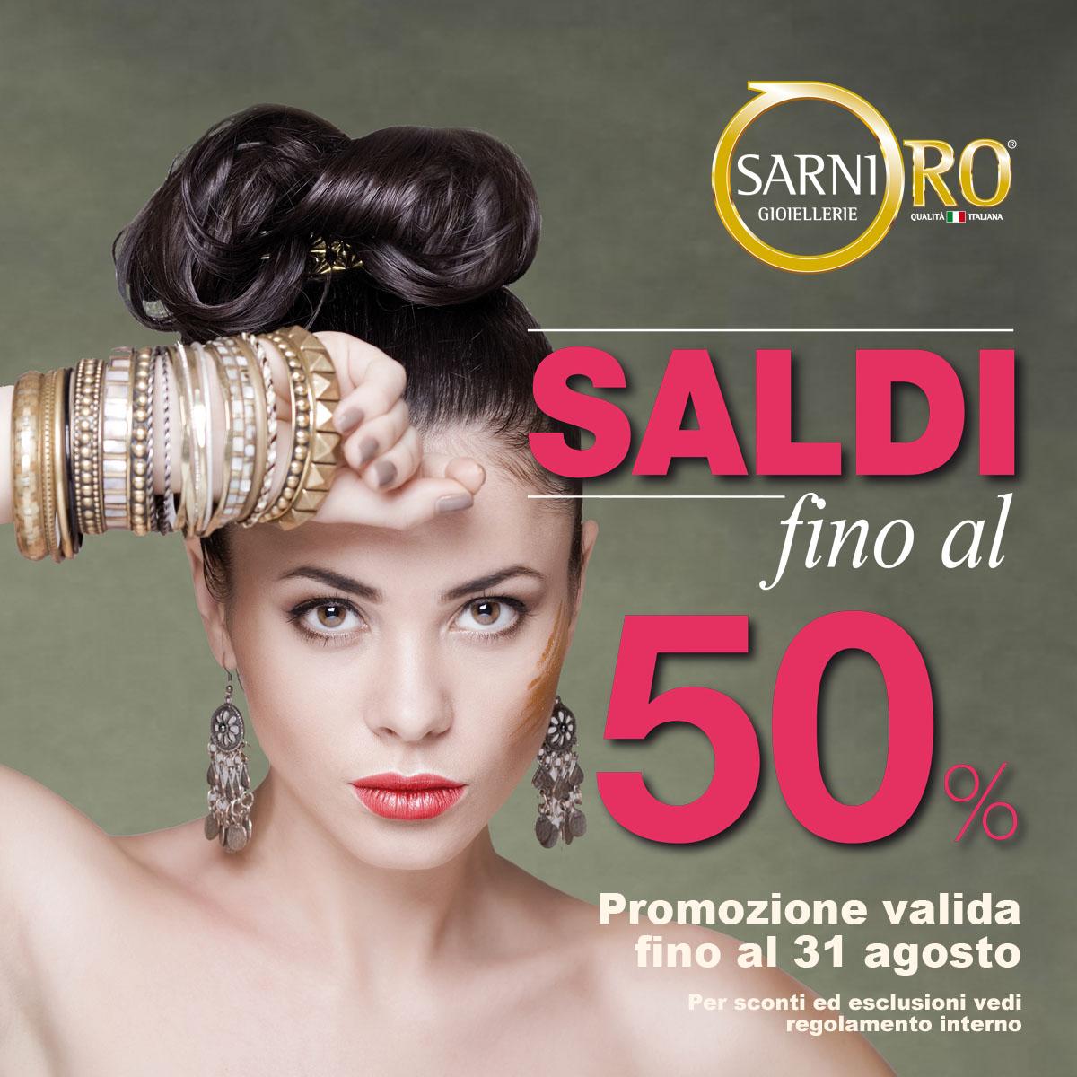 – 50% da SarniOro